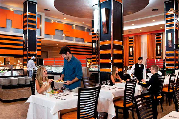 Restaurant - Riu Palace Bavaro Hotel - All Inclusive 24 hours